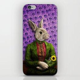 Miss Bunny Lapin in Repose iPhone Skin