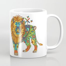 Lion, from the AlphaPod collection Coffee Mug