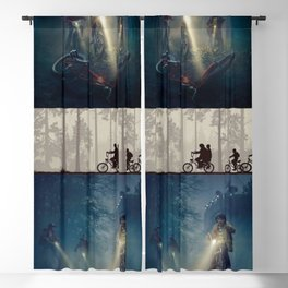 Stranger Thing Kids Blackout Curtain