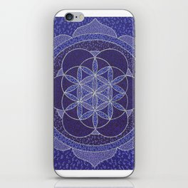 Flower of Life Mandala iPhone Skin