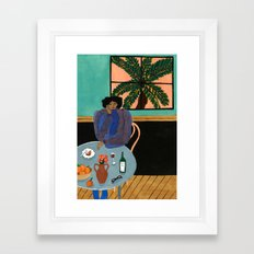 George Keburia Framed Art Print