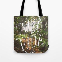 Pura Vida Costa Rica Jungle Life Caribbean Type Tote Bag