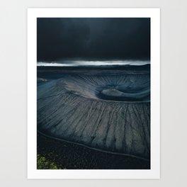 Dormant Volcano Art Print
