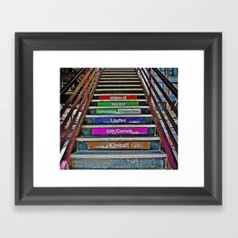 which way ? Framed Art Print