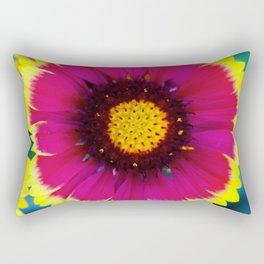 Sunny Looking Flower Rectangular Pillow