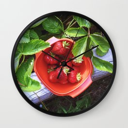 fresh picked Wall Clock