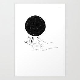Magic in your Hands Art Print