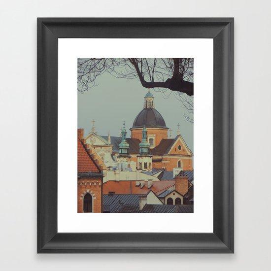 Krakow Framed Art Print