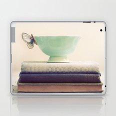 Tea & Books Laptop & iPad Skin