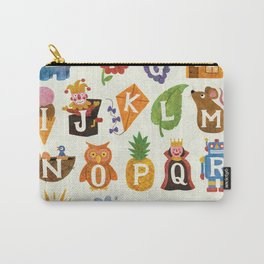 Alphabet Carry-All Pouch