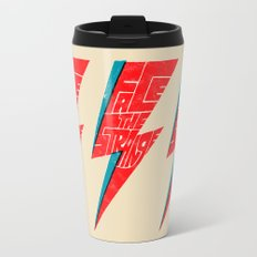 Face The Strange Travel Mug