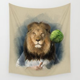 The lion's share Wall Tapestry