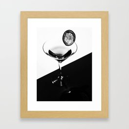 Coctail, Kitchen, Style, Modern art, Art, Minimal, Wall art Framed Art Print