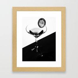 Coctail, Kitchen, Style, Modern art, Art, Minimal, Wall art Framed Art Print