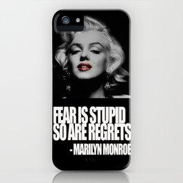 Marilyn Mon iPhone Case