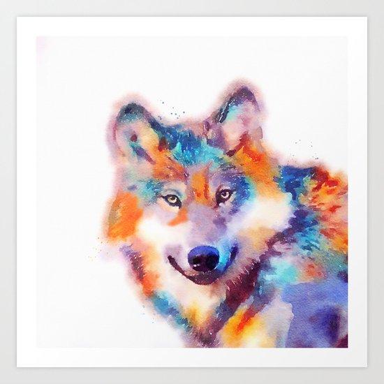 The Faithful - Wolf Art Print