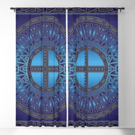 The Ancestors (Dragonfly) Blackout Curtain
