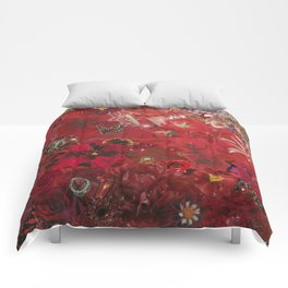 Red 2015 Comforters