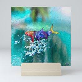 Tarpon Caribbean Colors Mini Art Print
