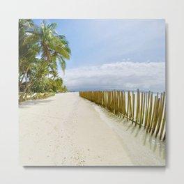 Boracay Sunshine walk Metal Print