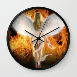 Fallen Angel Wall Clock