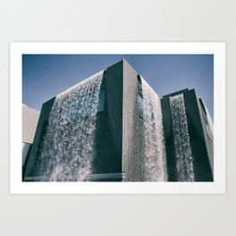THE BUILDING Art Print
