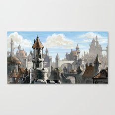 Blue Sky Kingdom Canvas Print