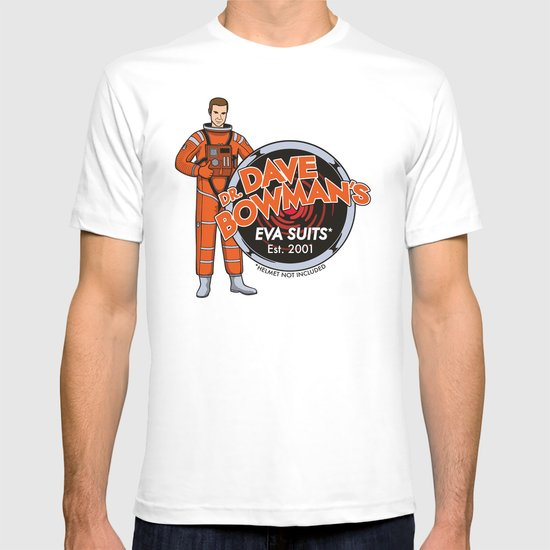 Dr. Dave Bowman's EVA Suits T-shirt