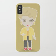 Girls in their Golden Years - Blanche Slim Case iPhone X