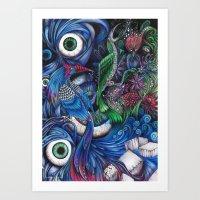 oeilnature Art Print