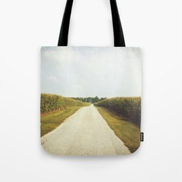 Indiana Corn Field Summers Tote Bag