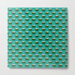 Feed Me- Sushi Pattern Metal Print