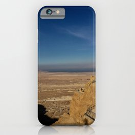 The View From Masada iPhone Case
