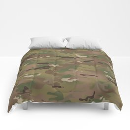 Military Woodland Camouflage Pattern Comforters