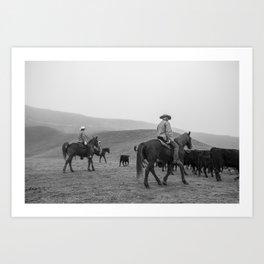 Ranch Four Art Print