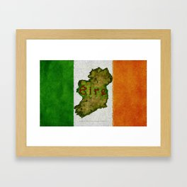 Éire - 020 Framed Art Print