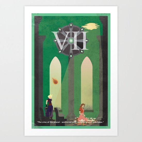 Vintage FF Poster VII Art Print