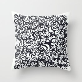 nt014 Throw Pillow