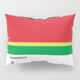 Pantone Fruit - Watermelon Pillow Sham