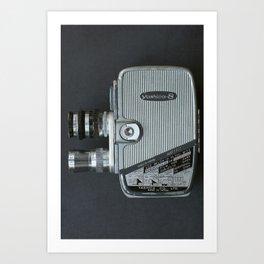 Vintage Cine Camera Art Print