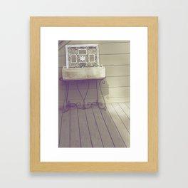 Mother's Corner Framed Art Print