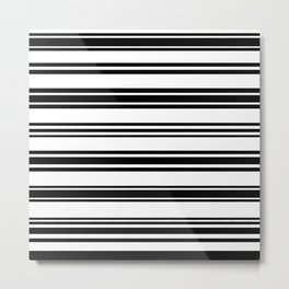 Stripes. 18 Metal Print
