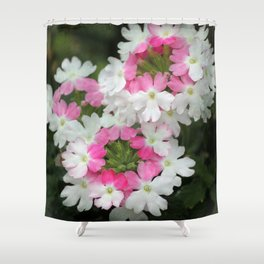 Twisted Pink Shower Curtain