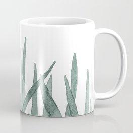 Watercolor snake plants Coffee Mug