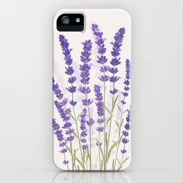 Lavender II iPhone Case