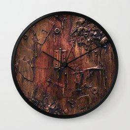 Exploded Wall Clock
