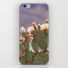 Prickly Pear Blooms I iPhone Skin