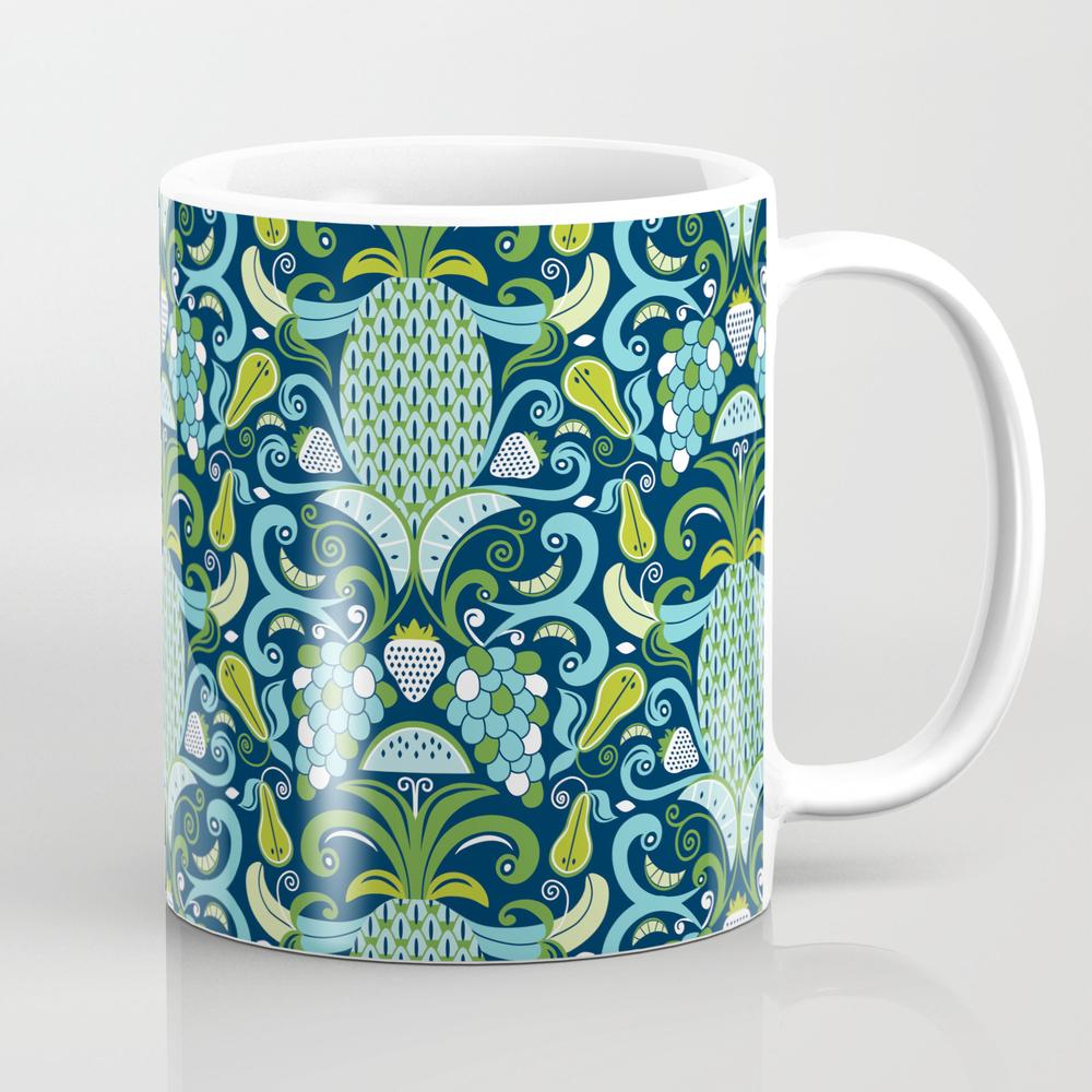 Ambrosia Blue Mug by Heatherduttonhangtightstudio MUG8024150