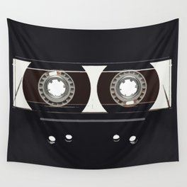 retro old tapes Wall Tapestry