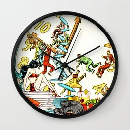 """""""My Marriage Was Open, But I Couldn't Get a Date"""" Wall Clock"""